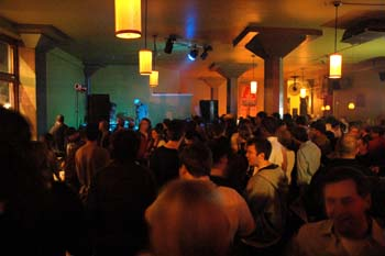 A full house for Kings Go Forth at Stonefly on Saturday.