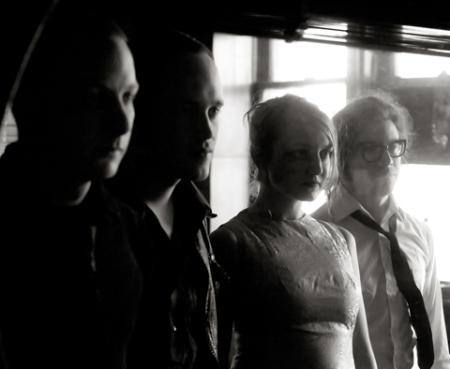 Detroit indie-pop quartet I, Crime visits the Borg Ward (image courtesy of the artist)