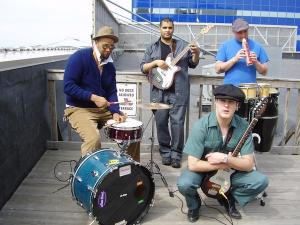 Photo of Eric Blowtorch and the Welders courtesy of MySpace